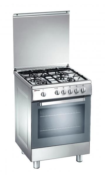 Fogão Tecnogas D 52 NXS 60*50 cm inox forno a gás