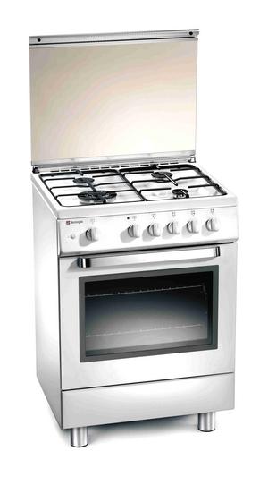 Fogão Tecnogas D 12 WS 50cm branco forno a gás