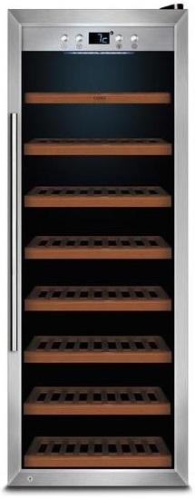 Garrafeira CASO WineSafe 43 com compressor profissional