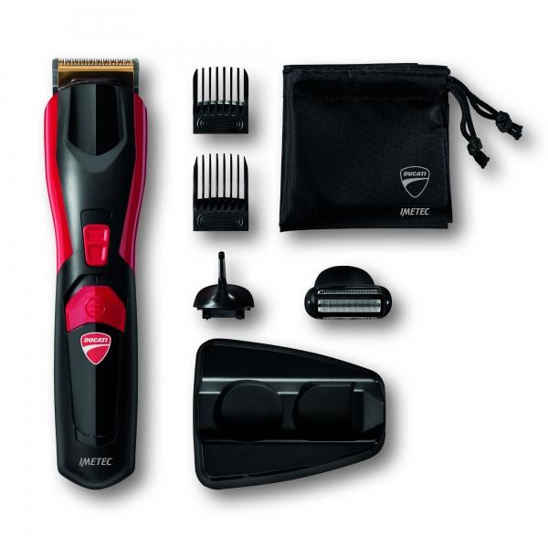 Aparador de barba multifunções DUCATI GK618 GEARBOX