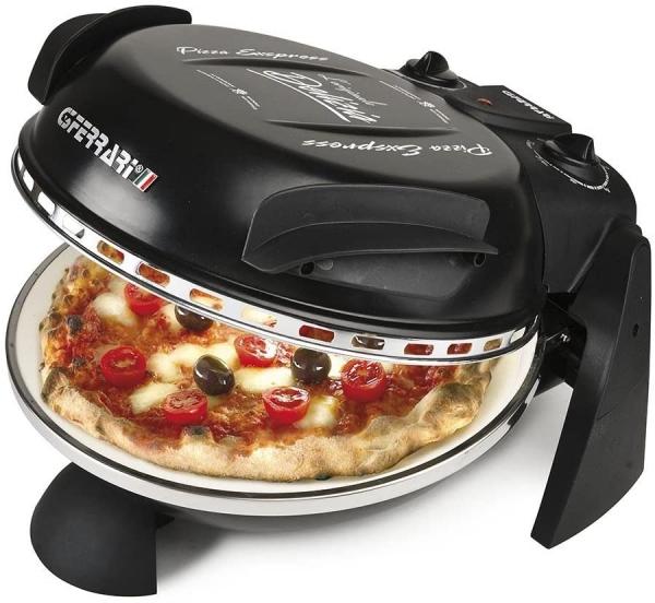 Forno de Pizzas Ferrari G100061 DELIZIA EVO NERO