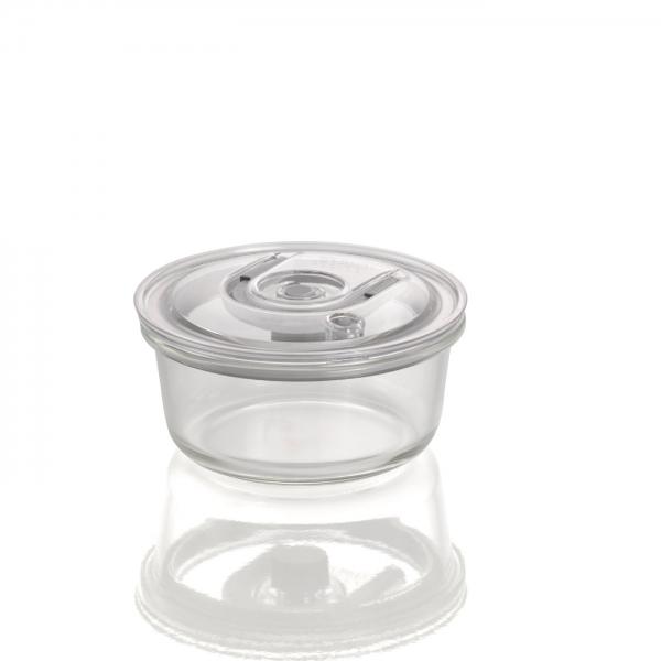 Recipiente de Vácuo em vidro CASO 620 ML REDONDO