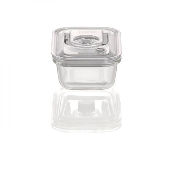 Recipiente de Vácuo em vidro CASO 370 ML RETÂNGULAR