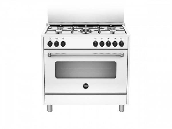 Fogão semi profissional 90 cms branco forno elétrico