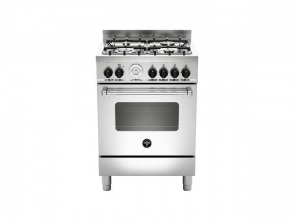 Fogão profissional 60cms forno a Gás Inox