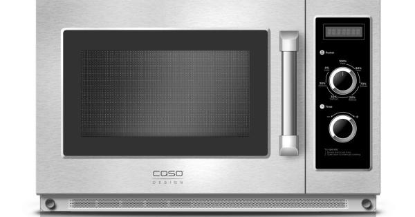 Microondas profissional CASO Design C1800M