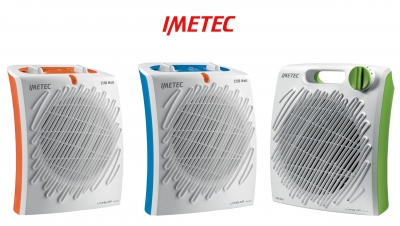 Lan�amento da nova gama de Termoventiladores IMETEC
